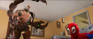 Scorpion ready to kill Miles