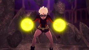 "Terra Kills Deathstroke Full Fight Scene - Teen Titans ""The Judas Contract"" HD"