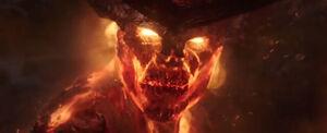 Thor Ragnarok - Surtur Face Turn