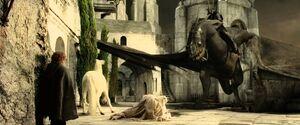 Witch King VS Gandalf
