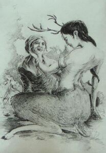 Charm of the Deer Woman
