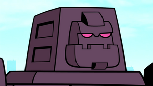 Cinderblock's Angry Face