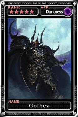 Golbez Card