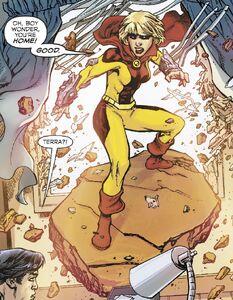 Tara Markov Dark Multiverse Teen Titans The Judas Contract 002