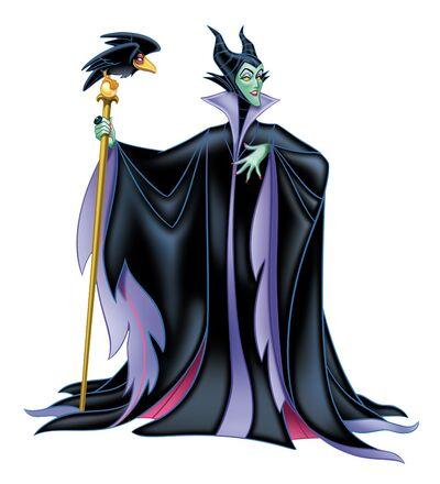Maleficent & Diablo the Raven