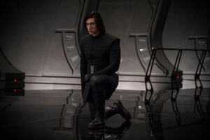 SWTLJ-Kylo Ren throne room