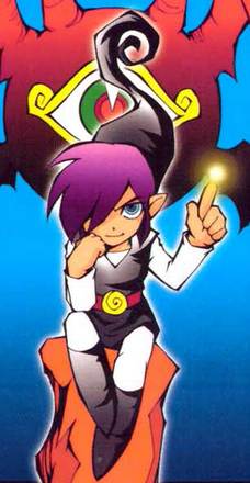 Shadow Link Manga