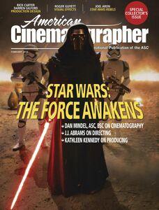 TFA American Cinematographer cover