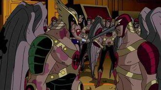 The Thanagarians leave Earth