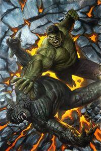 X-Men Gold Vol 2 21 Hulk Variant Textless