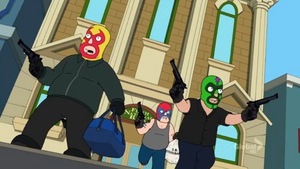 Bank Robbers (The Cleveland Show)