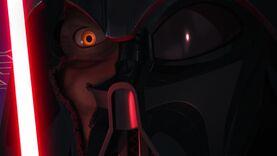 Darth Vader ignites