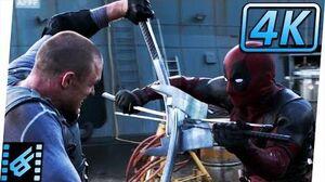 Deadpool vs Ajax Final Fight (Part 1) Deadpool (2016) Movie Clip