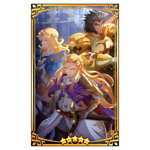 Dragalia Lost - Leonidas, Phares and Valyx