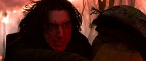 Kylo fights cultists