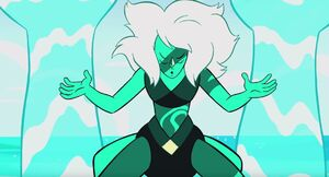 Malachite water hands