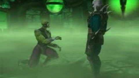 Mortal Kombat 4 Reptile Ending