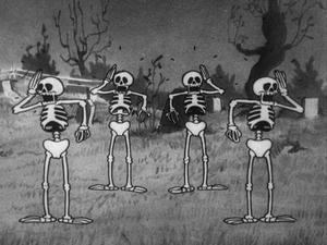 Shocked skeletons