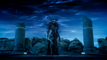 The Mystic boss from FFXV