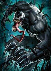 Venom Vol 4 7 Marvel Battle Lines Variant Textless