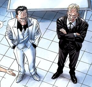 Billy Russo (Earth-616) and Stuart Clarke (Earth-616) from Punisher In the Blood Vol 1 3 001
