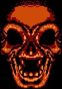 Death dark skull