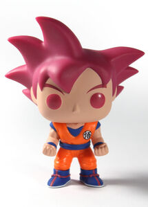 Dragon Ball Z - Goku Super Saiyan God-Funko-Pop Vinyl-Funko-trampt-199633o