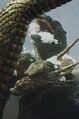 GVKG - King Ghidorah Strangles Godzilla