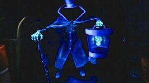 HD Hatbox Ghost - Best Low Light Quality Haunted Mansion (Disneyland, CA)