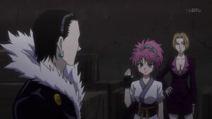 Machi talk to Chrollo