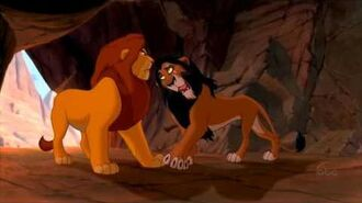 The Lion King - Scar and Mufasa (English) HD