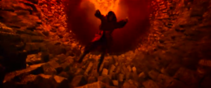 Jack falling into the deepest pit