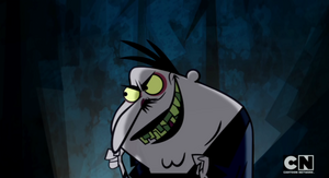 Master Xox's evil grin