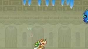 Super Paper Mario Boss Battle Bonechill