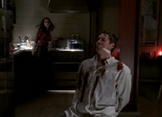 Wesley being tortured by Faith