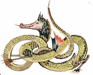 738px-J.R.R. Tolkien - Dragon
