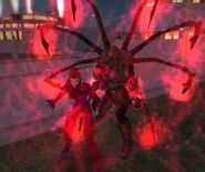 Lord Recluse and Red Widow fighting