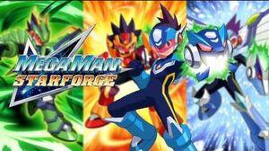Mega Man Star Force OST - T13 Wild Running Track (Truck Comp - Taurus Fire's Stage)