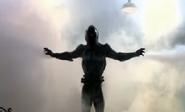 The Annihilator absorbing smoke
