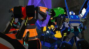 Thermidor vs Bee team