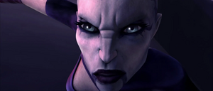 Asajj Ventress disappointed