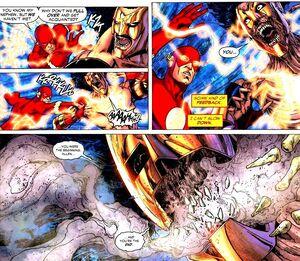 Death of Savitar comics