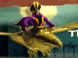 Evil sultan