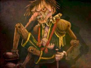 Knotts Scary Farm Pinocchio