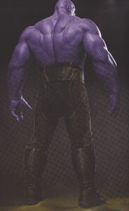 Avengers Infinity War Thanos concept art 3