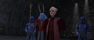 Chancellor Palpatine smile