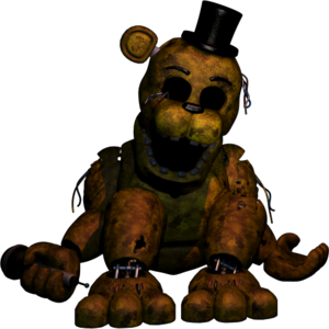 Golden Freddy FNAF2