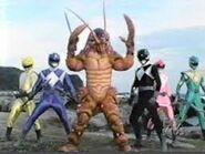 Mutant ranger pose 1