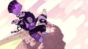 Sugilite falling off the Crystal Temple