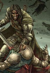 The Hound killing man